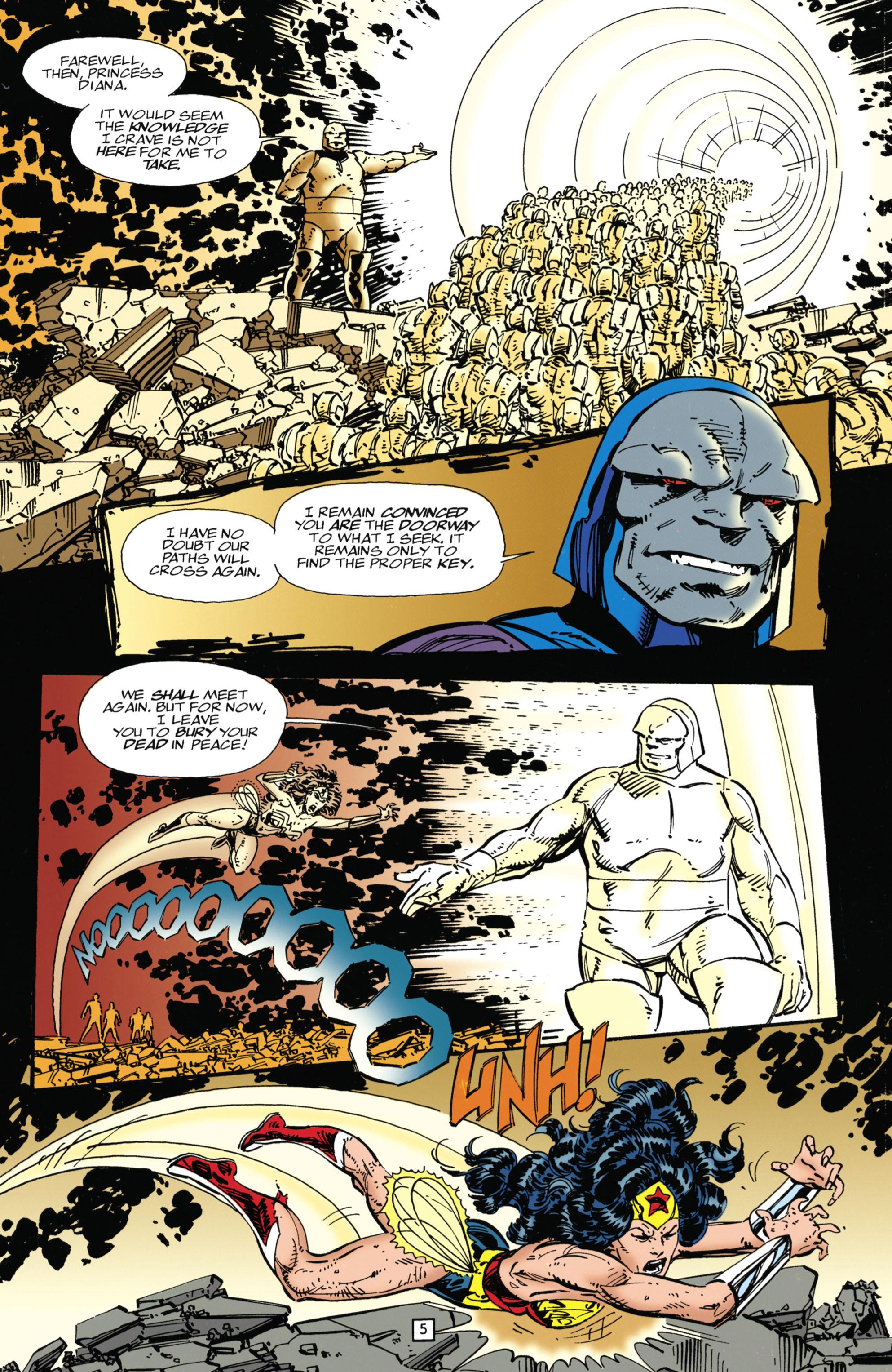 Read online Wonder Woman (1987) comic -  Issue #104 - 5