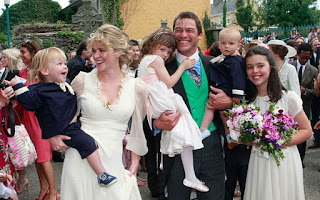 Dominic West And Wife Catherine Fitzgerald With Kids