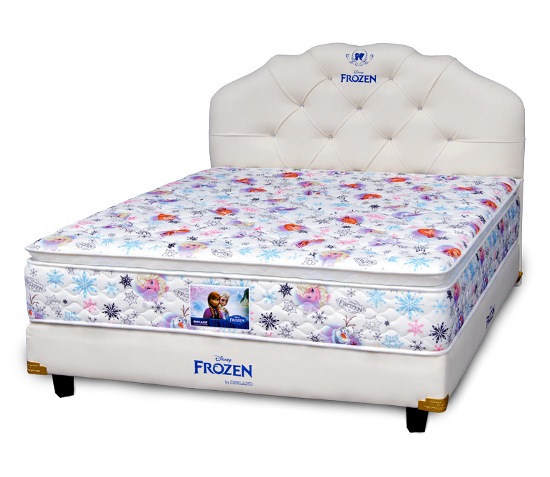 Harga Spring Bigland Bed Frozen Winter Magic Pillow Top di Purwokerto