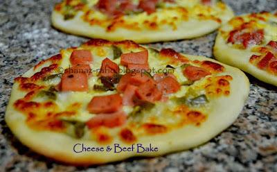 Cheese & Beef Bake