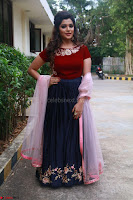 Actress Aathmika in lovely Maraoon Choli ¬  Exclusive Celebrities galleries 065.jpg