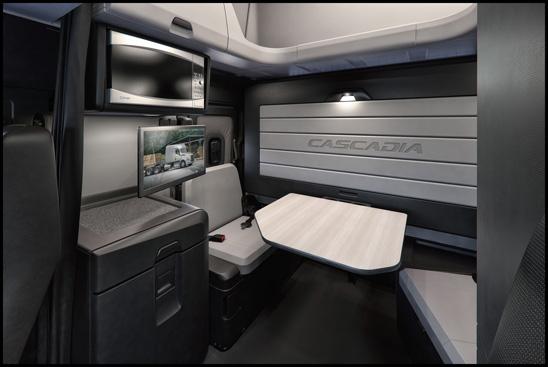 Freightliner Cascadia Elite Lounge