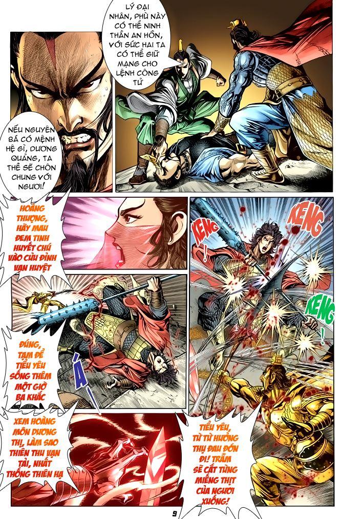 Đại Đường Uy Long chapter 55 trang 9
