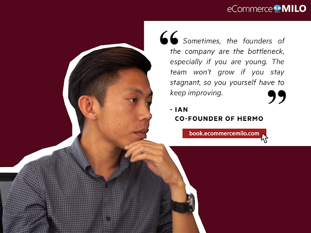 Ian, Co-Founder of Hermo