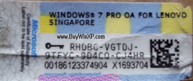 microsoft windows 7 professional 64 bit key