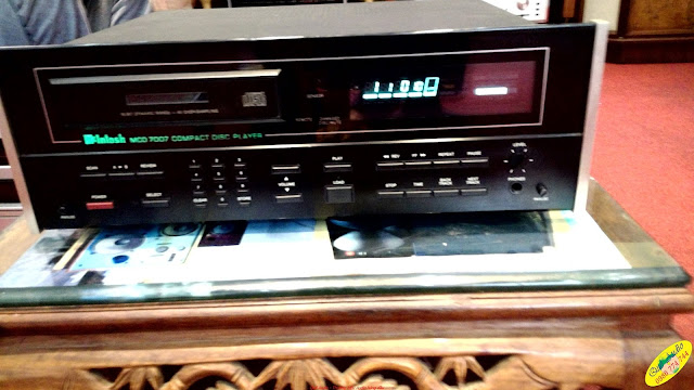 Đầu CD player Mc Intosh 7007 - Made in USA