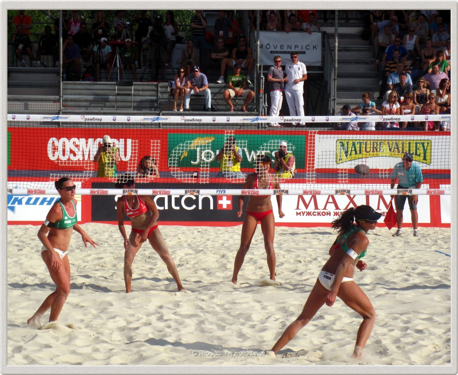 FIVB Beach Volley Swatch World Tour Moscow