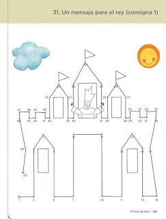 Un mensaje para el rey pagina 111 castillo resuelto desafíos matemáticos primer grado