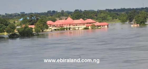 Flood In Kogi: Over 4,000 Kogi Residents Displaced - See Photos.