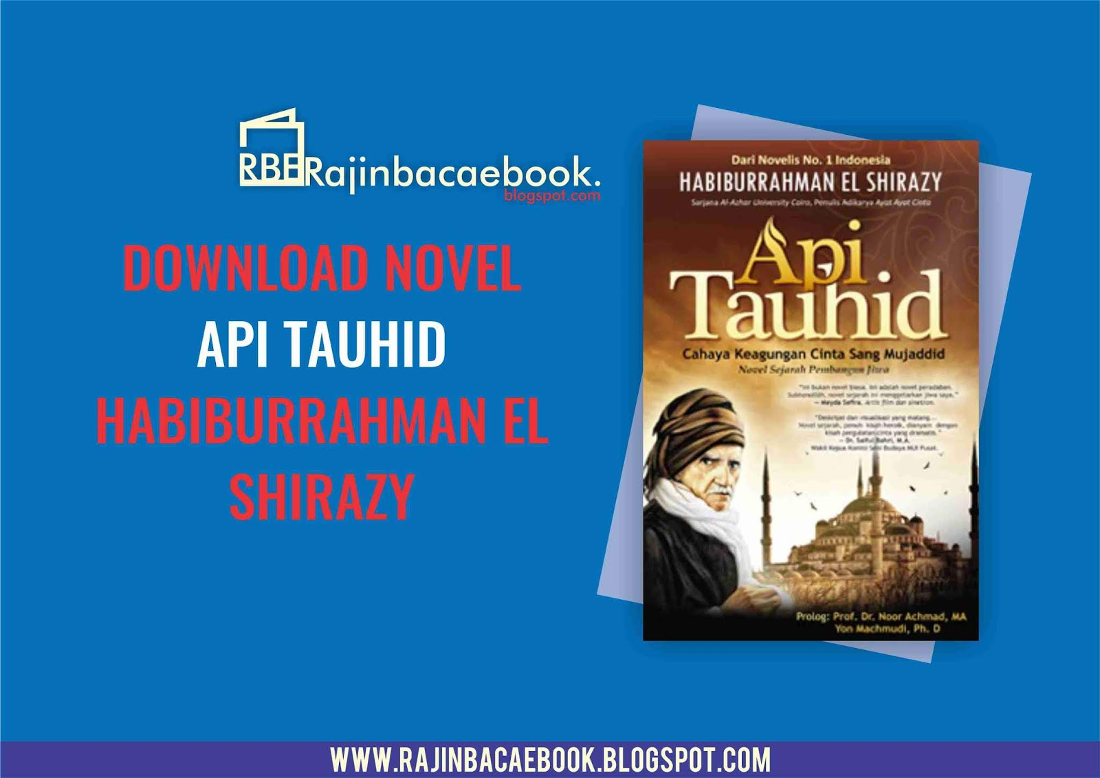 Novel el shirazy habiburrahman ebook
