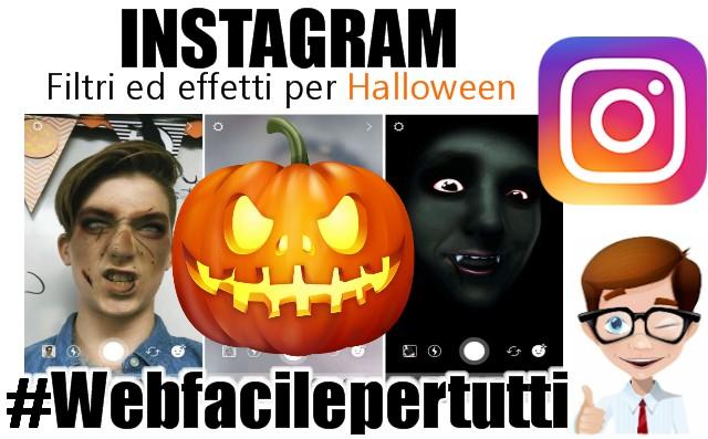 Instagram | Filtri ed effetti per Halloween Disponibili Per Android e iOS