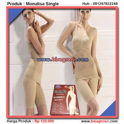 Monalisa Single Dan Double Baju Pelangsing Tubuh
