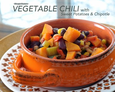 Vegetable Chili with Sweet Potatoes & Chipotle