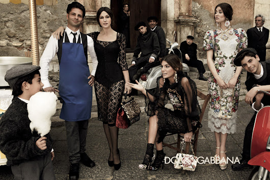 Dolce & Gabbana Campaign Needlepoint Baroque
