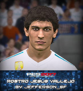 PES 2017 Faces Jesus Vallejo by FaceEditor Jefferson_SF