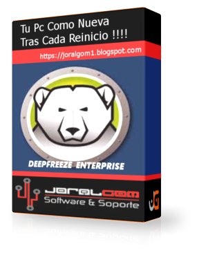 Deep Freeze Enterprise v8.37.220. Tu Pc Como Nuevo Tras Cada Reinicio !!!!