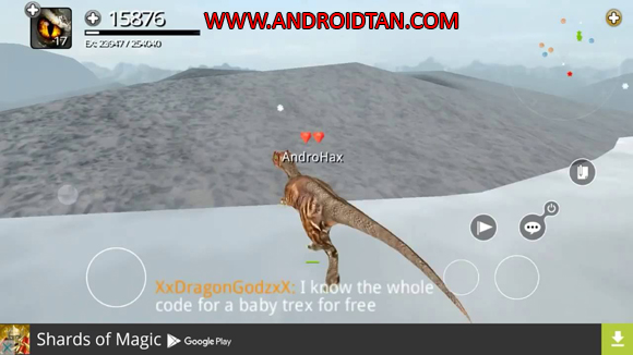 Fitur Game Dinos Online Mod Apk Data Unlimited Money