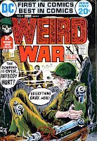 Weird War Tales v1 #6 dc bronze age comic book cover art by Joe Kubert