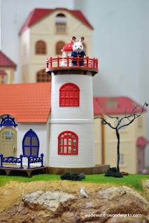 Sylvanian Families Lighthouse diorama