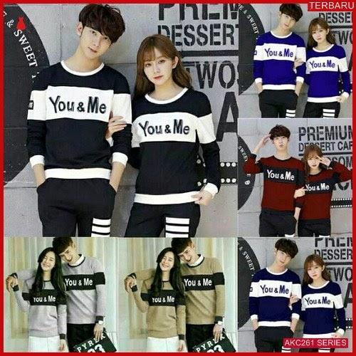 AKC261S72 Sweater Couple Couple Anak 261S72 Pasangan You BMGShop