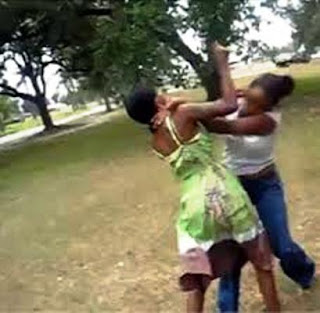 christian sisters and women fighting