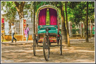 Rickshaw in old Dhaka, Old Dhaka, Trip Navigation Bangladesh