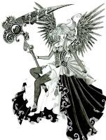 ангел девушка тату