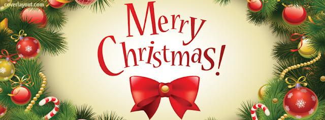 Facebook Cover Merry Christmas 2018