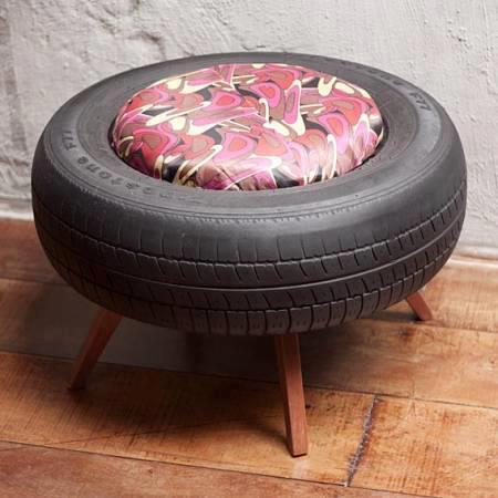 Tire Ottoman Diy Tutorials
