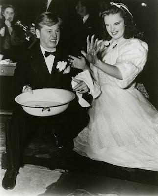 Judy Garland en el estreno de El Mago de Oz, 1939
