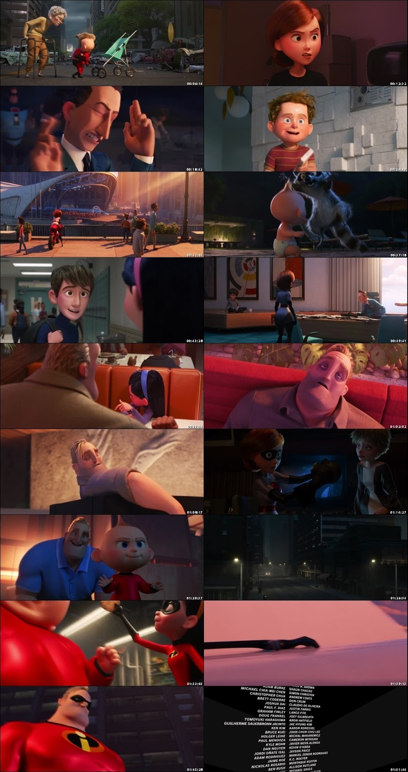 Incredibles 2 2018 Full Movie Download