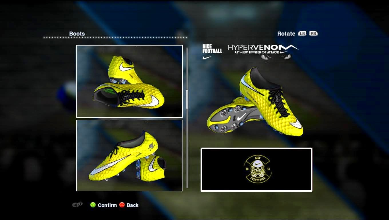 brand new 048b2 2c961 ... Adidas Ace PureControl Pogba Boots PES 2013 Nike Hypervenom Maximum  Yellow Black White (NJR) ...