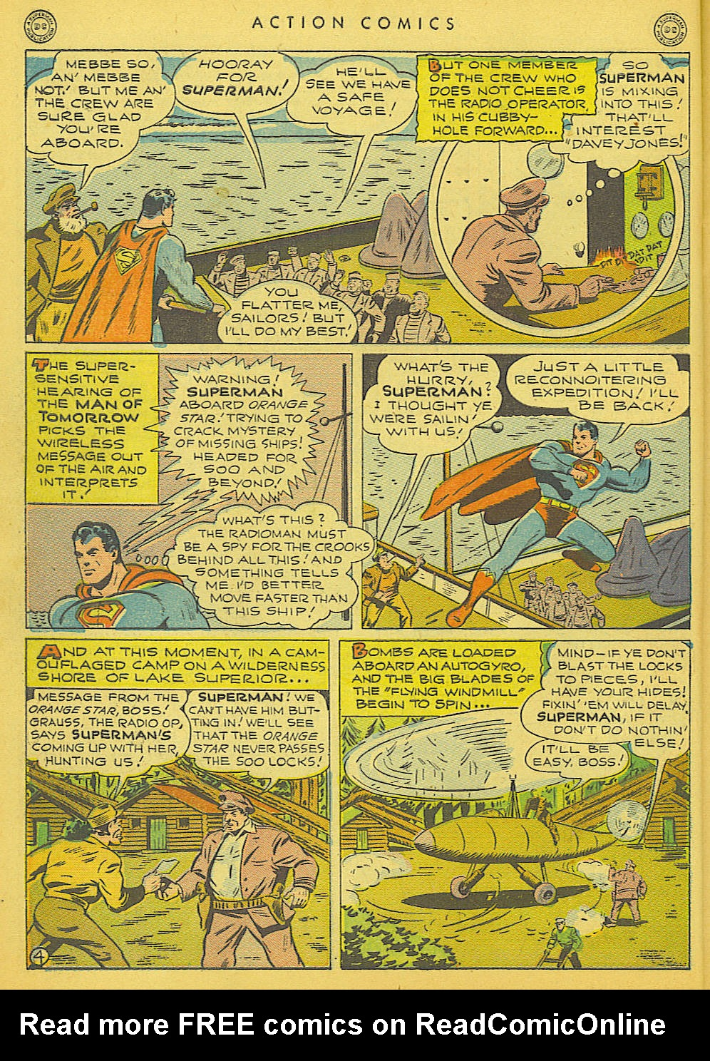 Read online Action Comics (1938) comic -  Issue #91 - 6