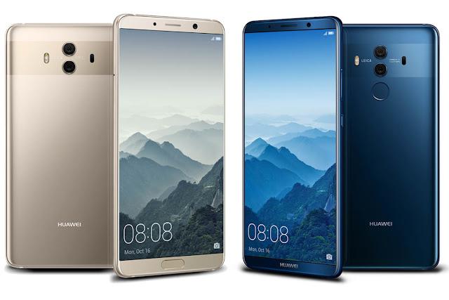 Huawei Mate 10 Vs Huawei Mate 10 Pro comparison