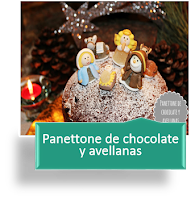 PANETTONE DE CHOCOLATE Y AVELLANAS