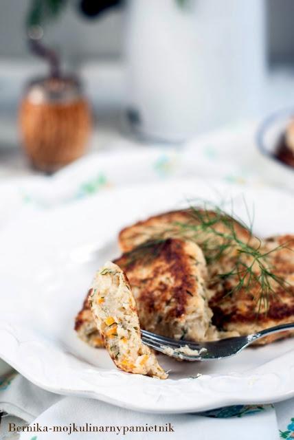 kotlet, kalafior, dietetyczne, tarczyca, hashimoto, obiad, wege, wegetarianski, bernika, kulinarny pamietnik