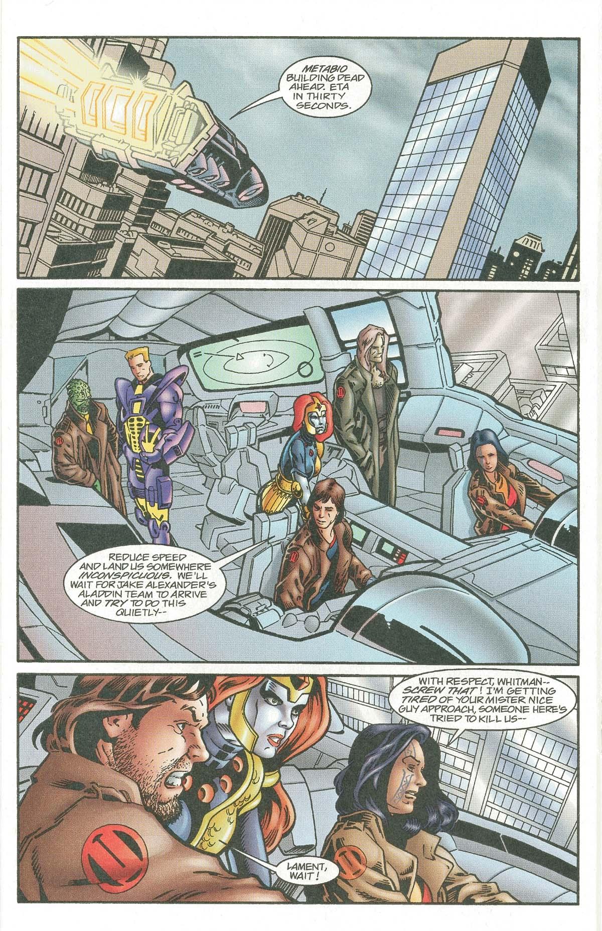 Read online UltraForce (1995) comic -  Issue #7 - 17