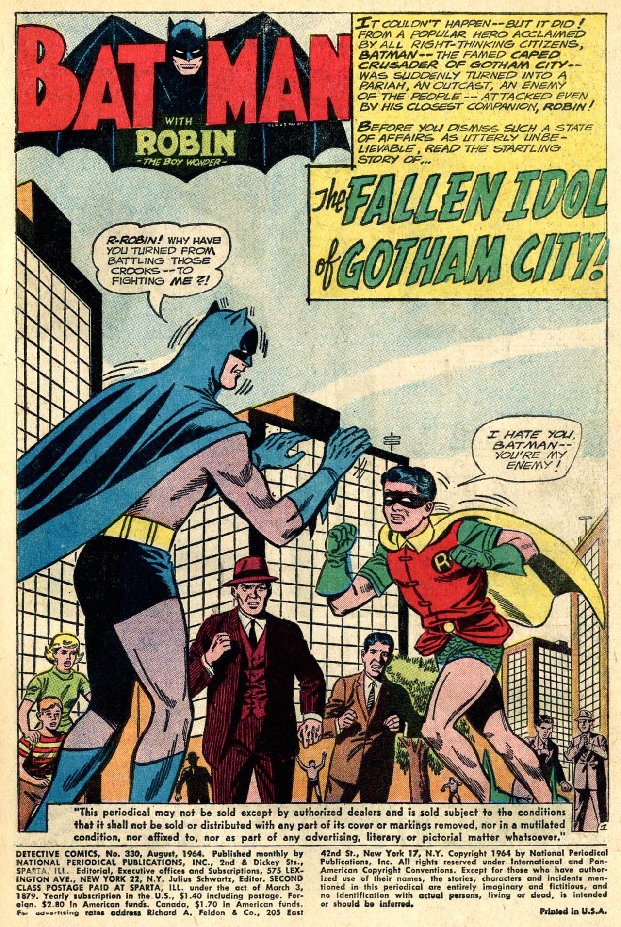 Detective Comics (1937) 330 Page 2