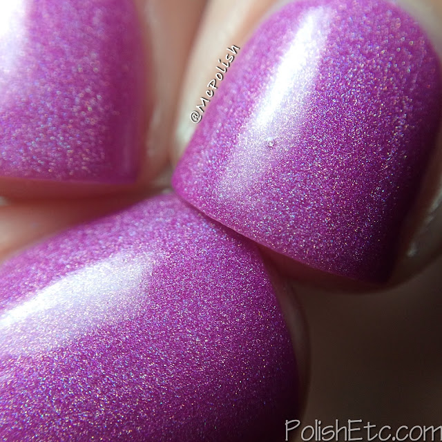 Loaded Lacquer - Beauty & the Beast Mode - McPolish - I Sweat Glitter macro