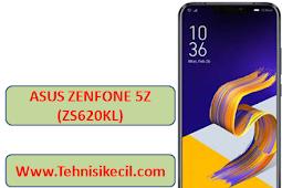 Cara Hard Reset ASUS ZENFONE 5Z ZS620KL Bootlop lupa pola dengan mudah 100% Work