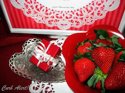 Curb Alert Valentine Doily Menu
