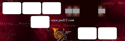 12x36 Indian Wedding Album Templates Design 10