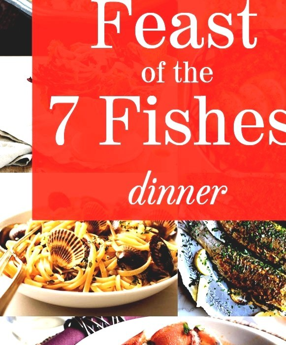 7 Fishes Christmas Eve Italian Recipes.Feast Of The Seven Fishes Fish Dinner