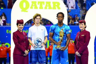 Monfils wins 2018 Doha title