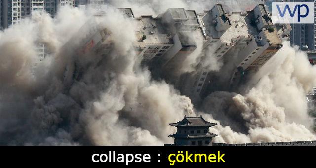 collapse ne demek