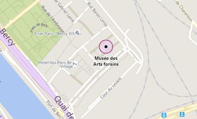 Vie quotidienne de FLaure : Plan pour aller au musée des arts forains