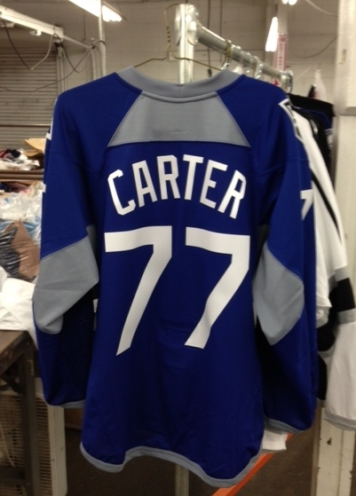 Dodgers Blue Heaven  Bid on Some of Those Great Dodgers  Hockey Jersey s  Now! 1d54693d337
