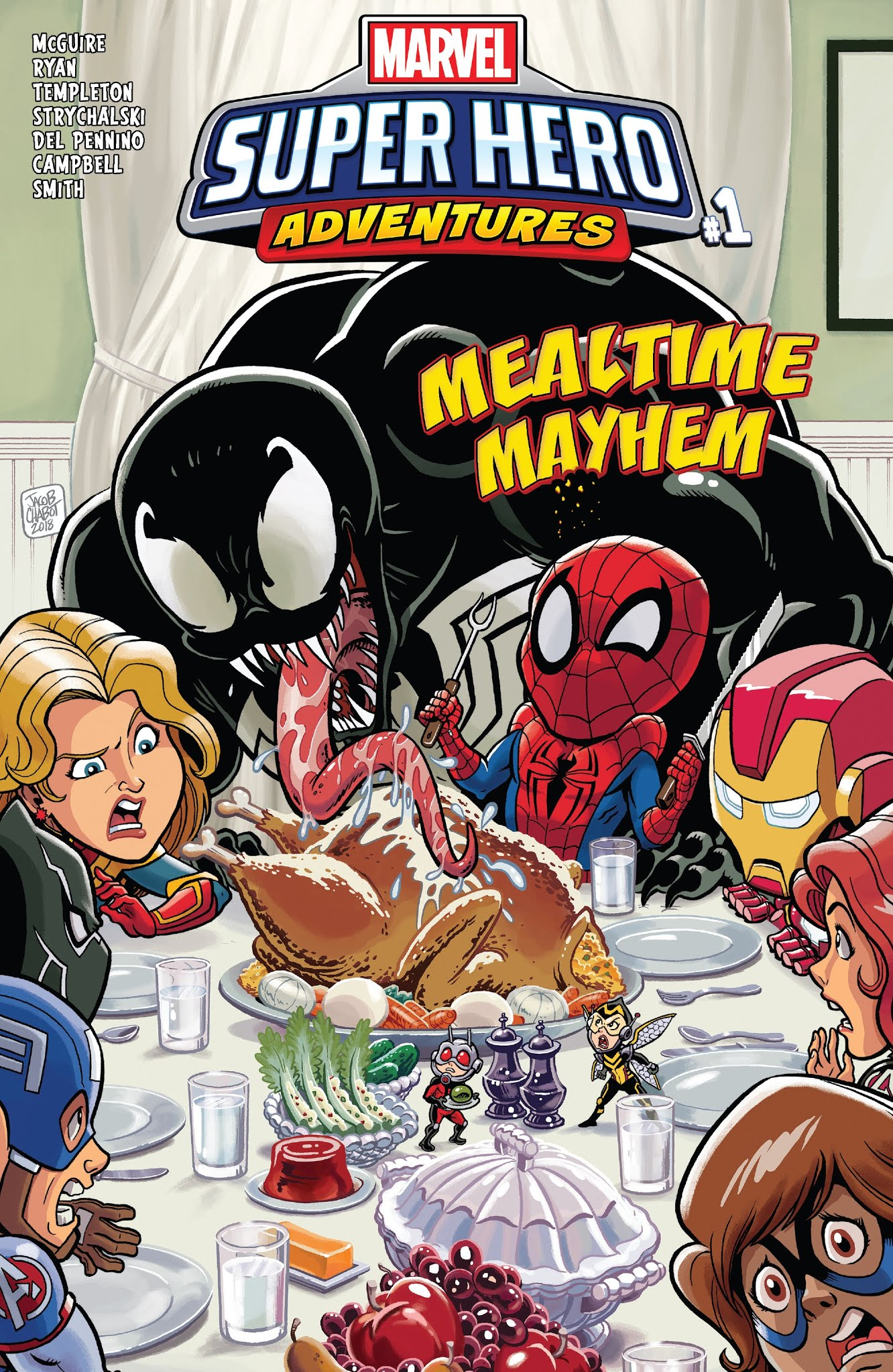 Marvel Super Hero Adventures: Captain Marvel - Mealtime Mayhem issue Full - Page 1