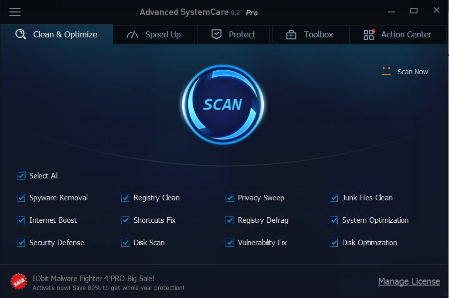 advanced systemcare 9.3 serial key