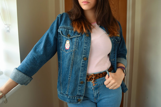 What Cat Wore - What Cat Wore | Candy Stripes & Denim